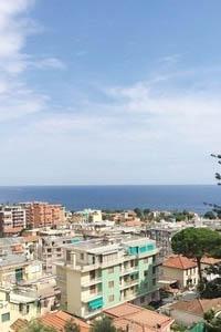 Sanremo vendita appartamento con meravigliosa vista mare