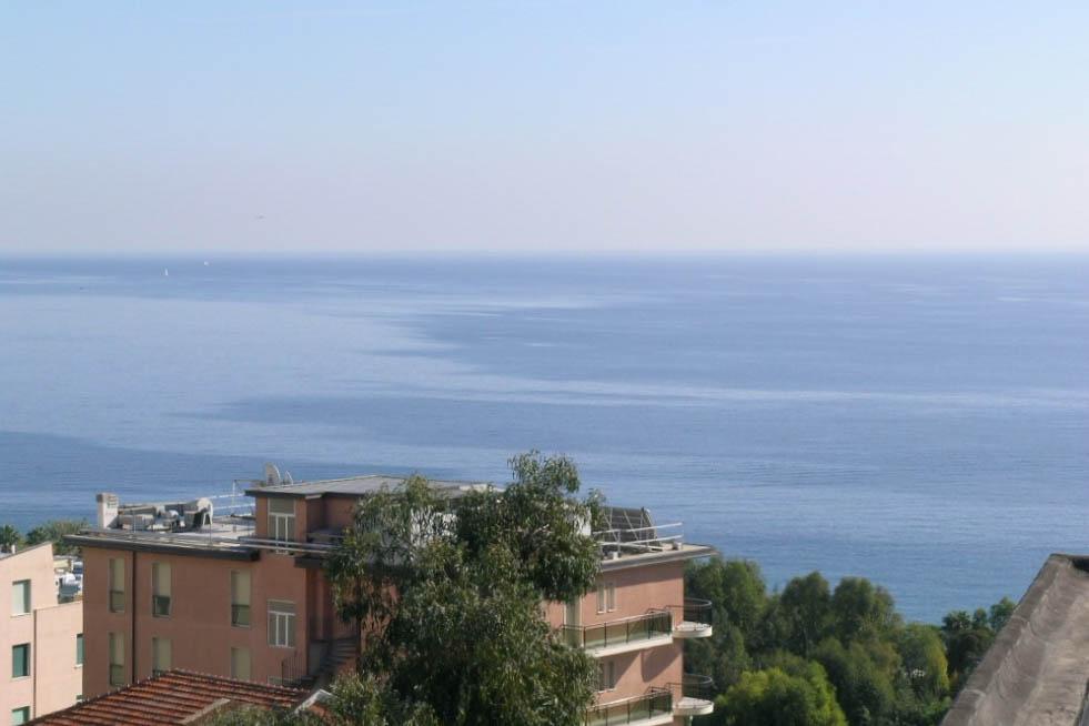 Sanremo vendita appartamento attico con vista mare panoramica