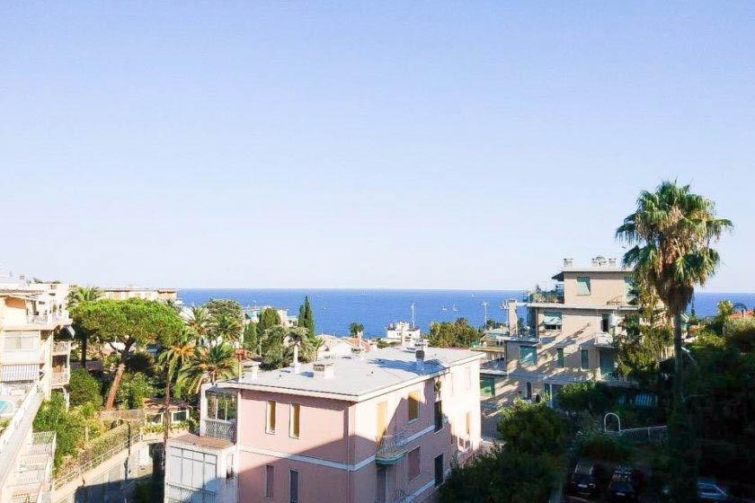 Sanremo vendita appartamento con vista mare e box auto