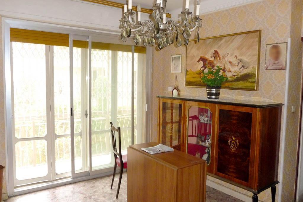 Sanremo vendita appartamento con giardino. Affare!