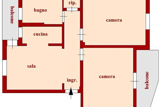 Sanremo: vendita appartamento a circa 2.5 km dal centro